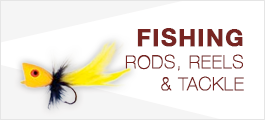 Fishing - Rods, Reels, and Tackle